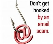 Don't get hooked by an email scam