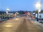 Reopened block of Main Street between Bothell Way NE and 101st Ave NE