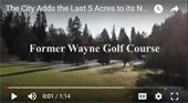 City buys last 5 acres of former Wayne Golf Course