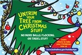 Untrim your tree before recycling