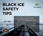 Black ice safety tips