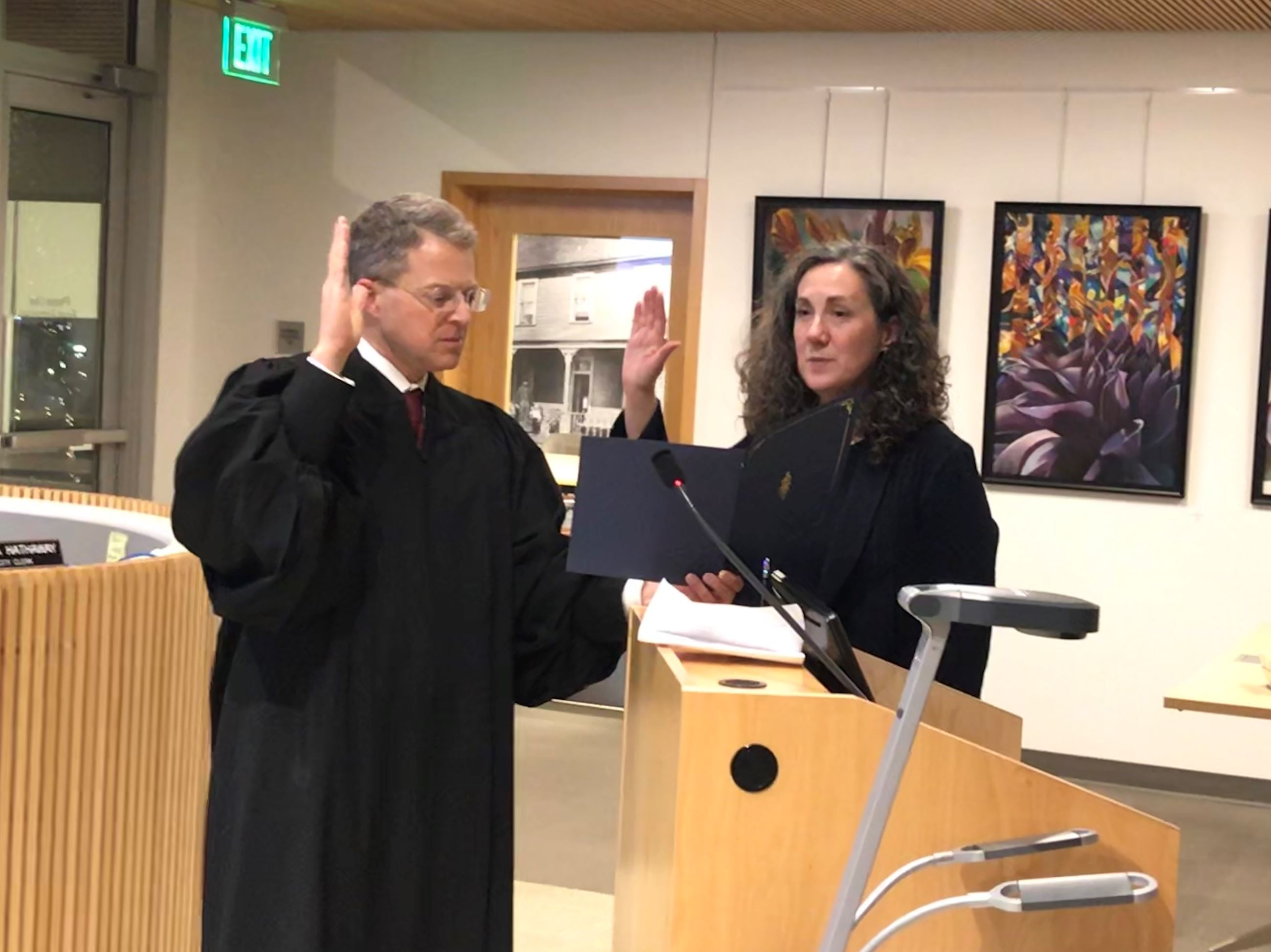 Judge Rozzano Swearing In