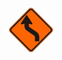 lane shift sign