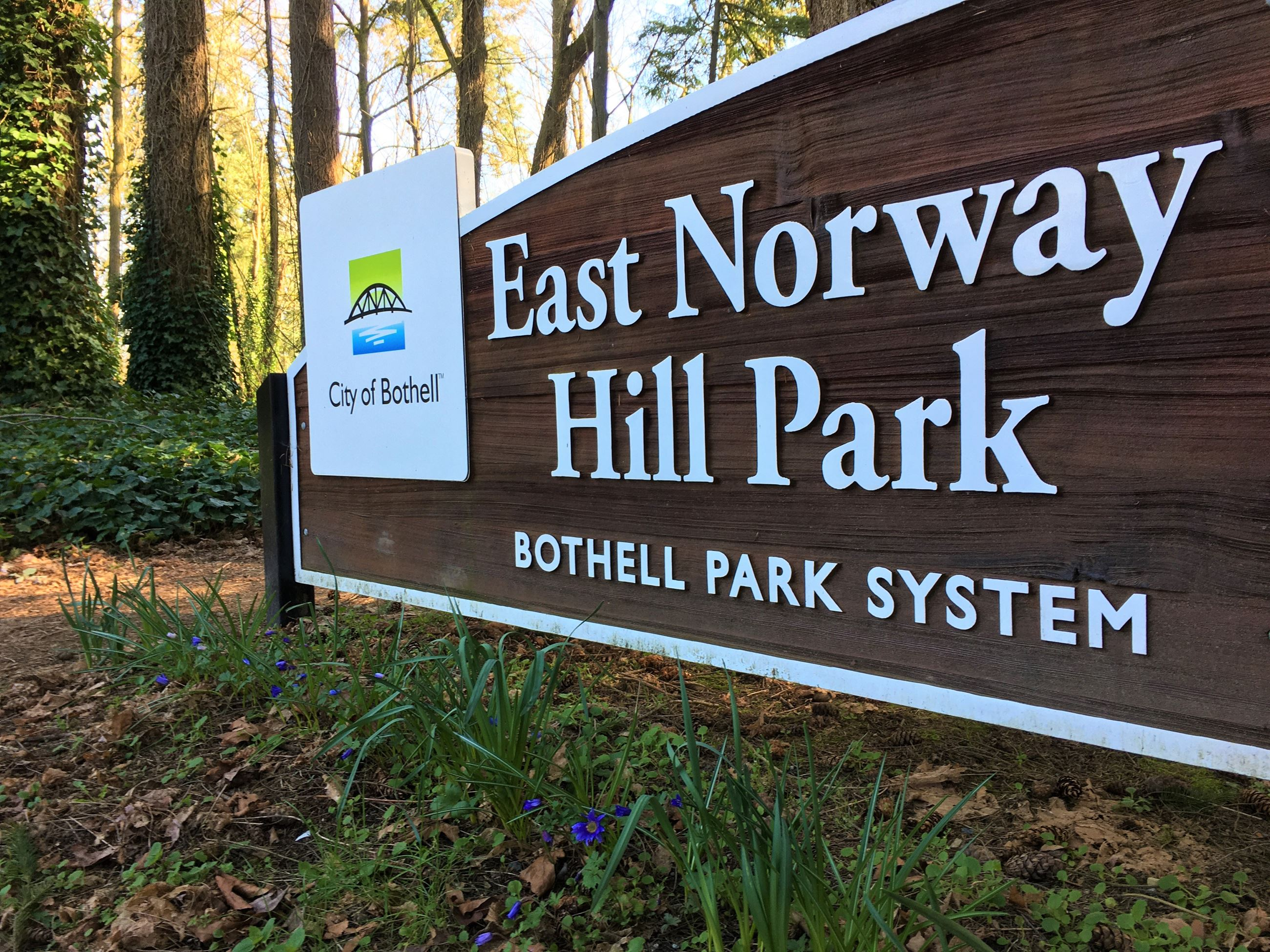 East Norway Hill Park sign