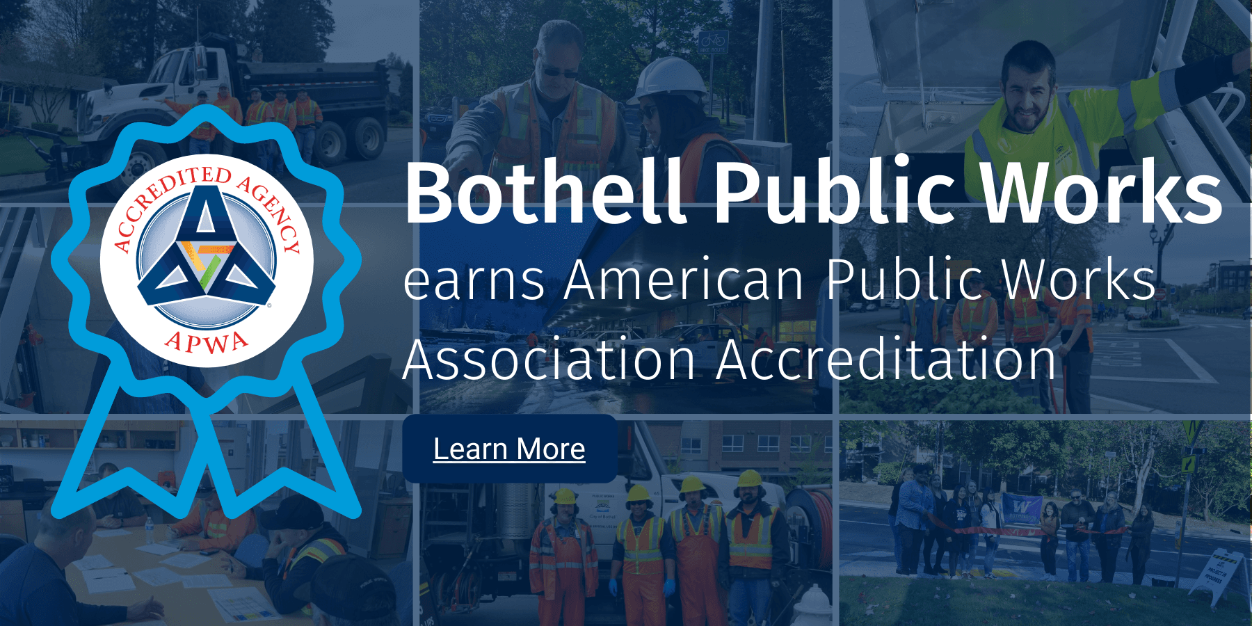 APWA Accreditation Website Header