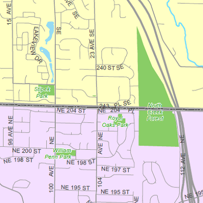 City County Map