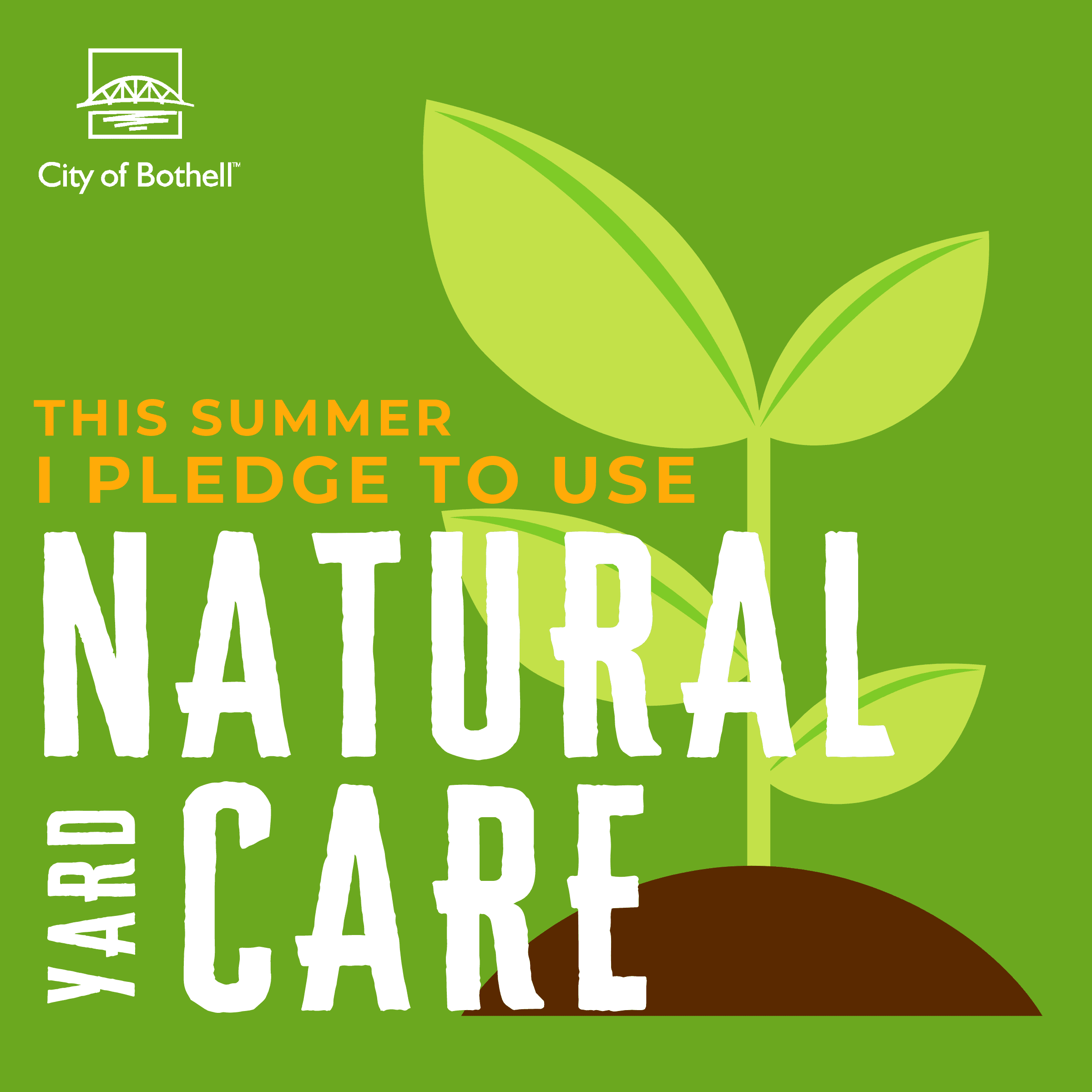 Green Summer Pledge - Natural yard care