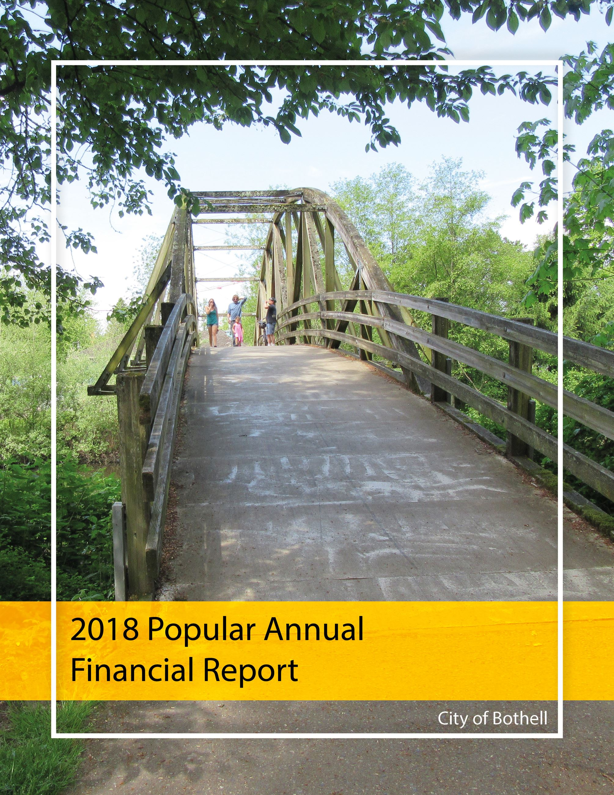 2018 Popular Annual Financial Report (PAFR) (PDF)
