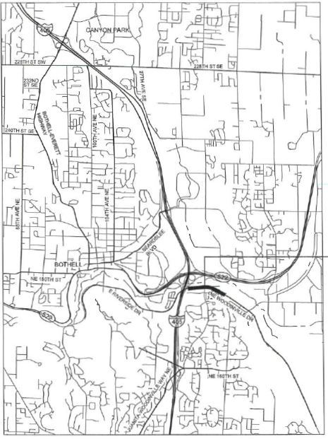 Woodinville Drive Overlay Vicinity Map